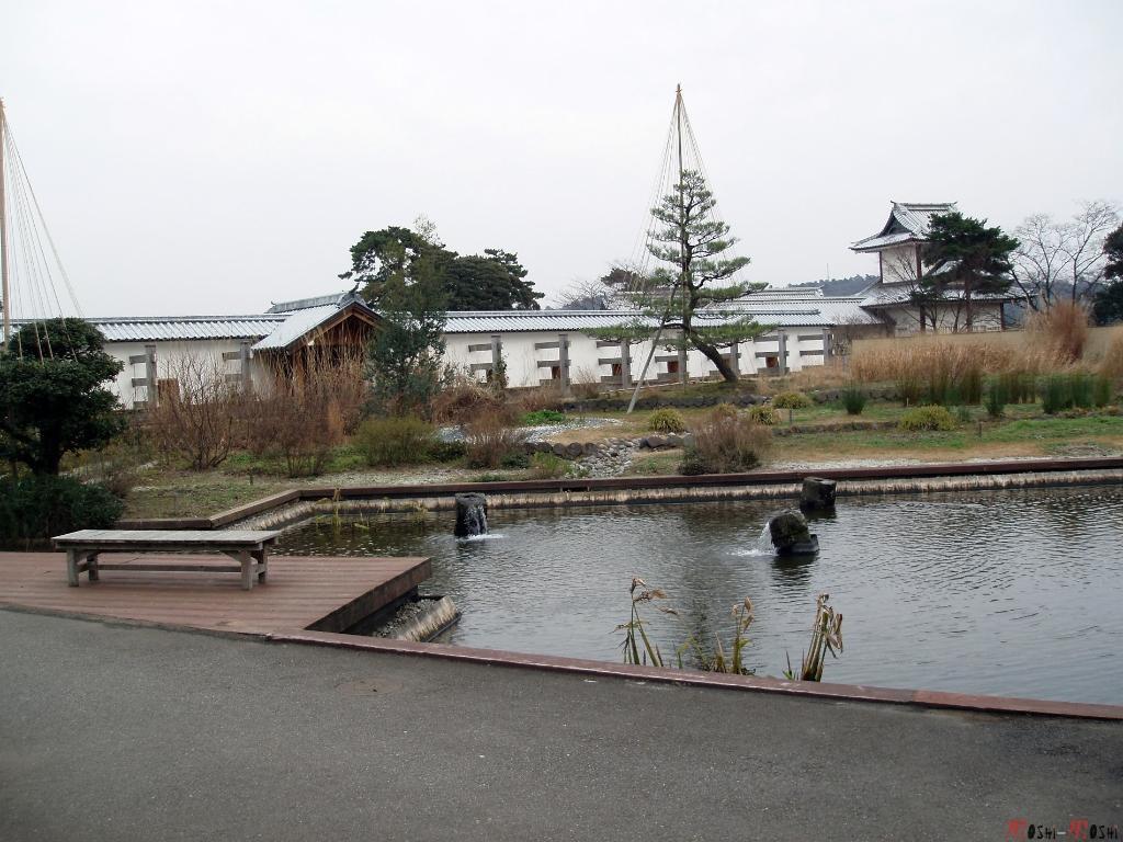 chateau-kanazawa-hiver-bassin