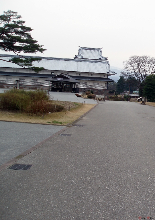 chateau-kanazawa-hiver-entree-visite
