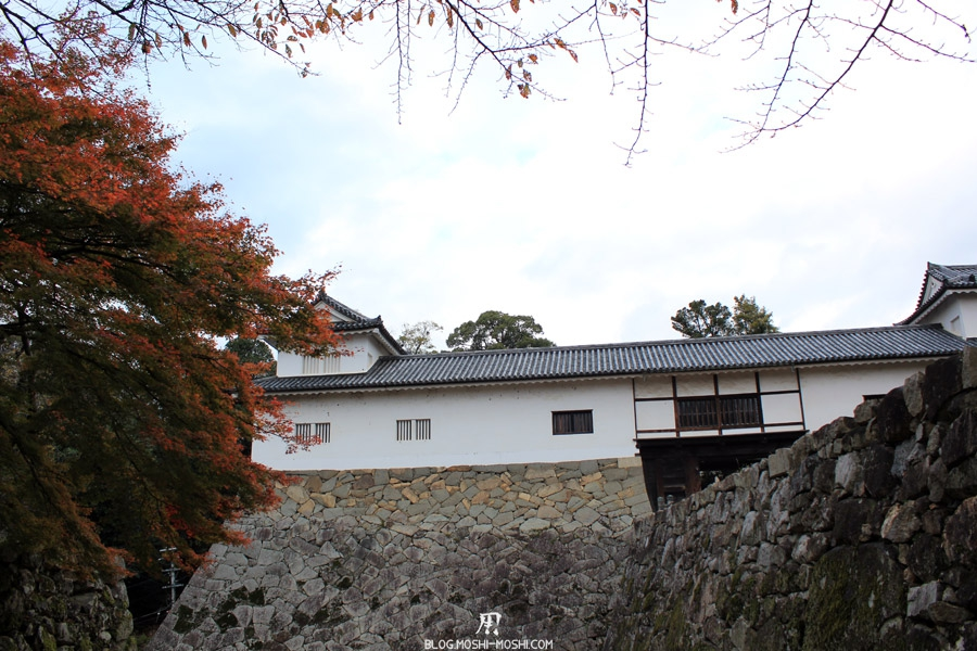 chateau-hikone-fortifications-momiji