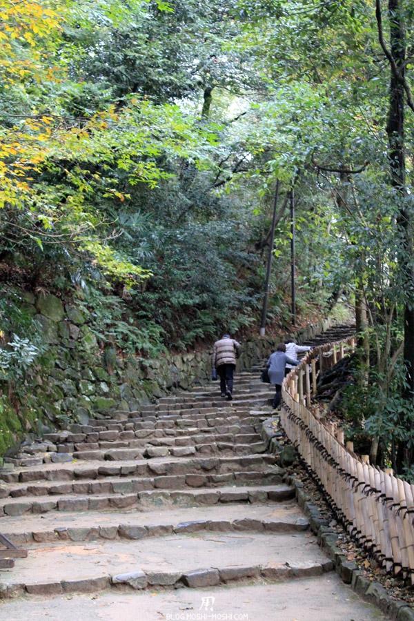 château d'Hikone montee-access