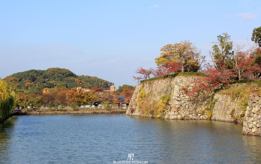 himeji-chateau-douves