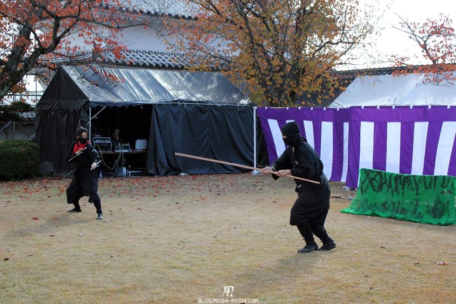 himeji-chateau-spectacle-ninja-combat-baton