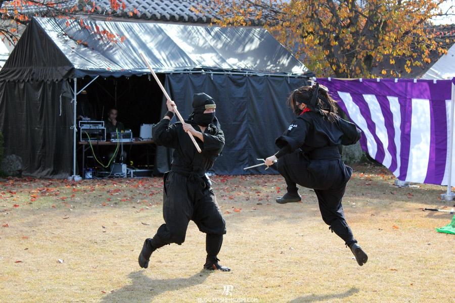 himeji-chateau-spectacle-ninja-saut
