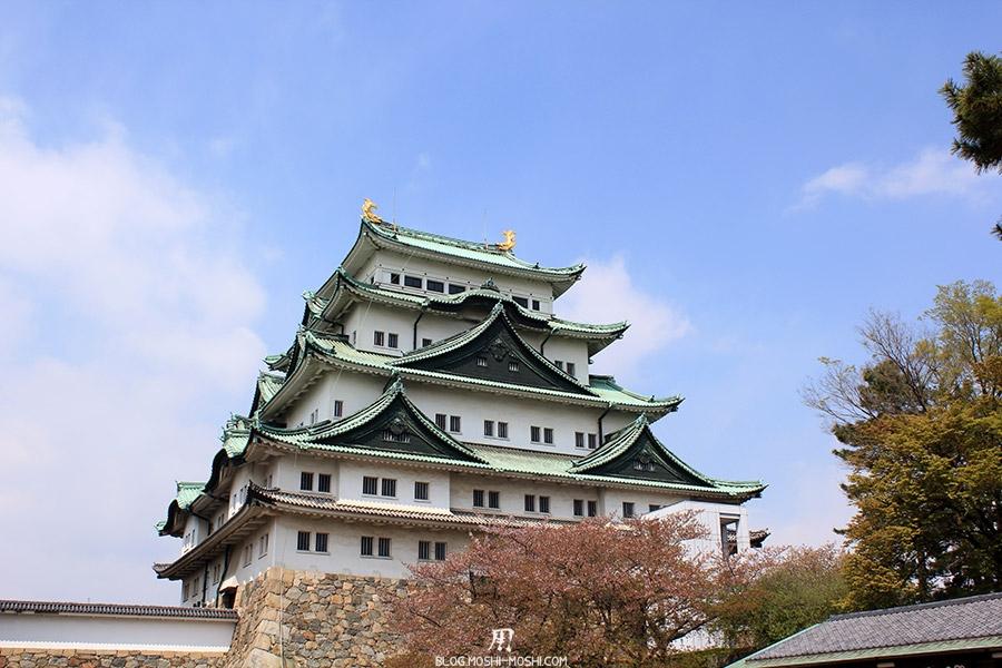 chateau-nagoya-aichi-donjon-principal-vue-face