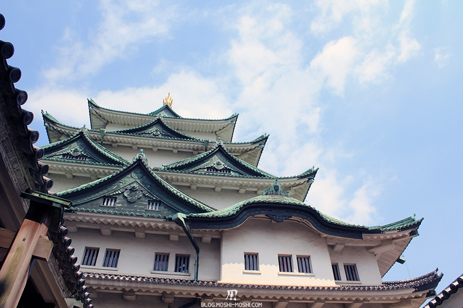 chateau-nagoya-aichi-donjon-toits-vue-bas