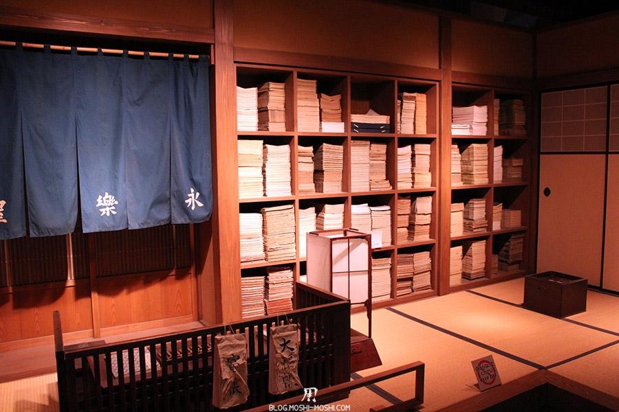 chateau-nagoya-aichi-etage-reconstitution-epoque-edo-livres