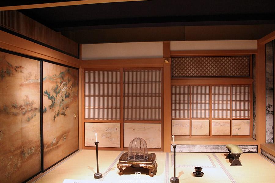 chateau-nagoya-aichi-etage-reconstitution-epoque-edo-piece-a-vivre