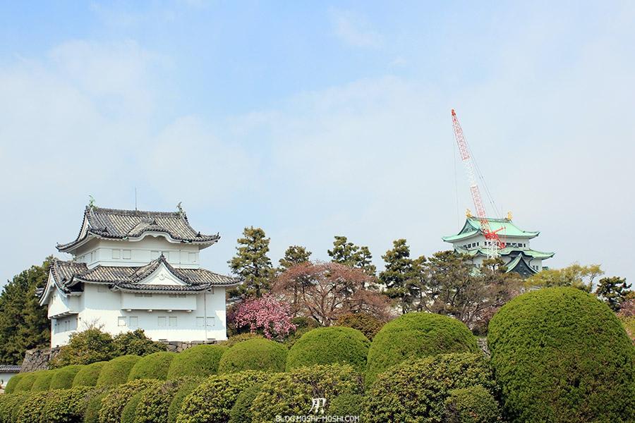 chateau-nagoya-aichi-tour-donjon-principal-travaux