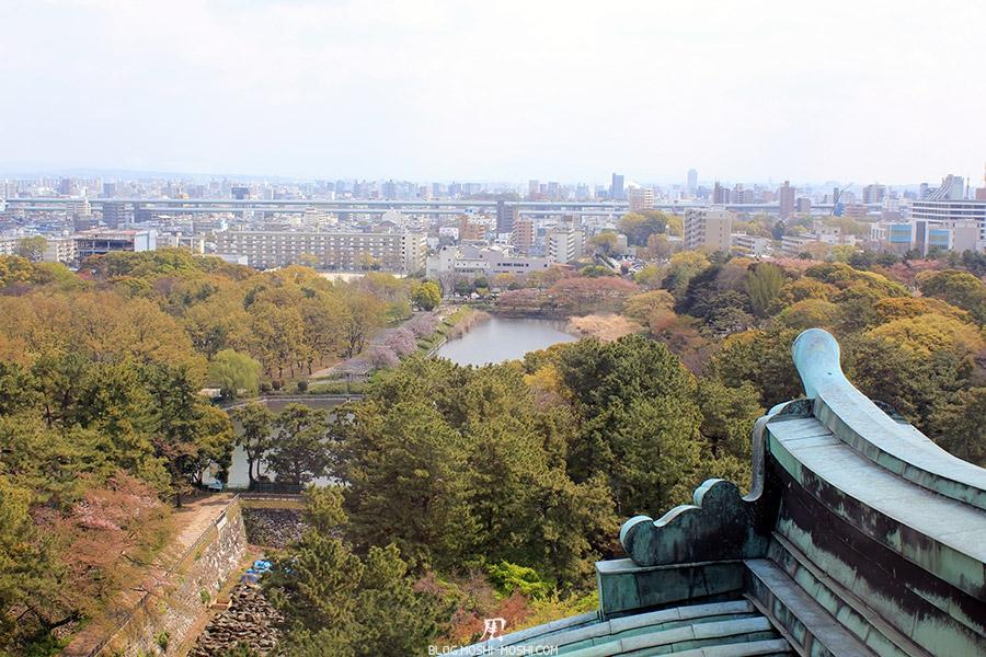 chateau-nagoya-aichi-vue-toit-ville