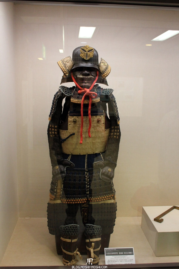 okayama-chateau-corbeau-saison-momiji-armures-samurai-ancienne