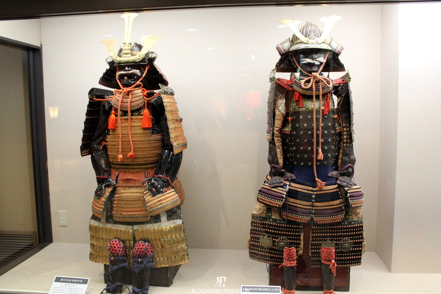 château d'Okayama corbeau-saison-momiji-armures-samurai