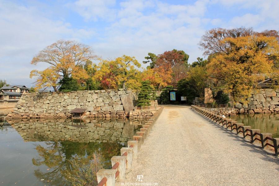château d'Okayama saison-momiji-entree-sud