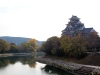 okayama-chateau-corbeau-saison-momiji-en-hauteur-douve