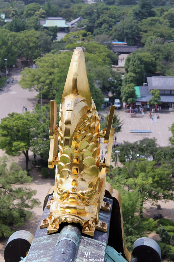 osaka-chateau-poisson-dragon-dore