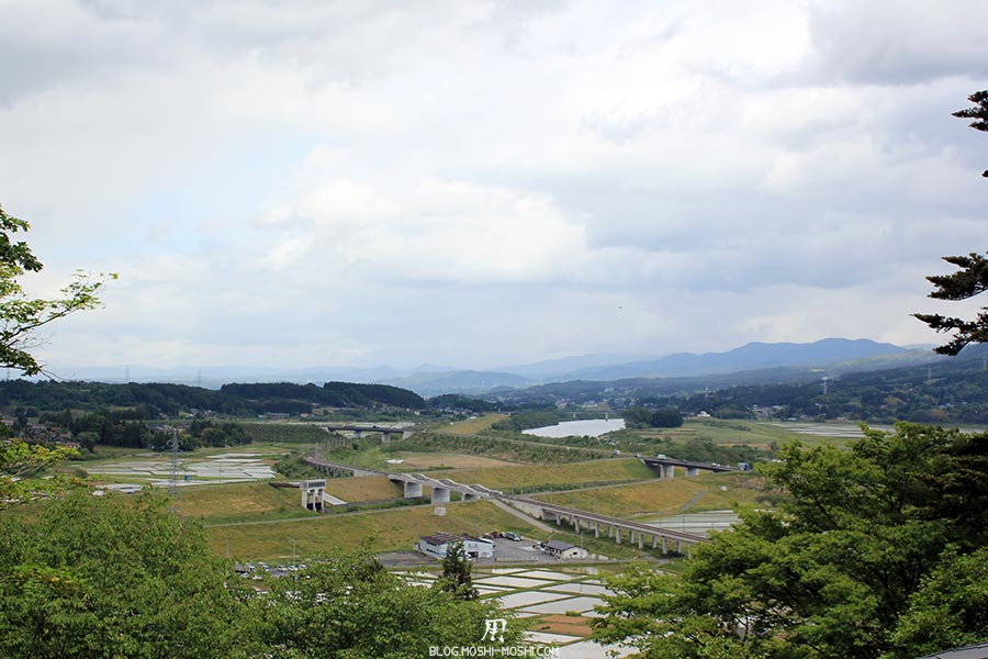 hiraizumi-patrimoine-unesco-chuson-ji-vue-rizieres-region