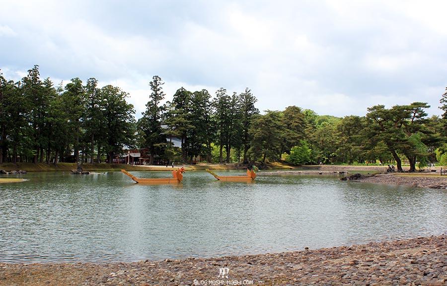 hiraizumi-patrimoine-unesco-motsu-ji-barques-dragons-plage-galets