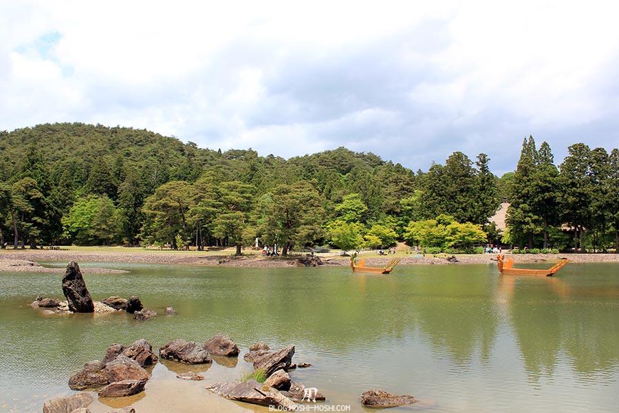 hiraizumi-patrimoine-unesco-motsu-ji-rochers-iles-barques-dragons