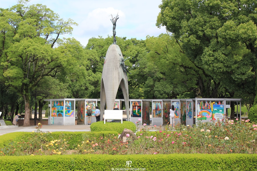 hiroshima-parc-memorial-paix-momument-paix-enfants
