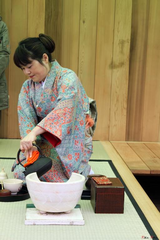 cérémonie préparation thé