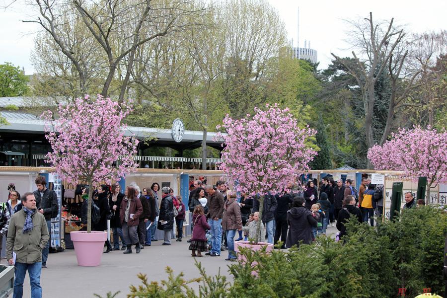 stands entrée jardin japonais