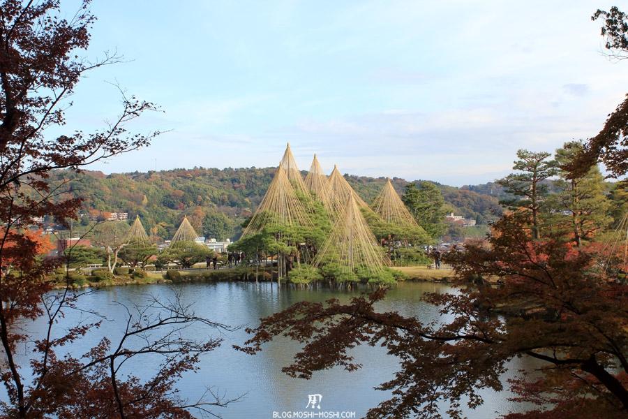 jardin Kenroku-en kanazawa-kenrokuen-saison-momiji-un-peu-de-hauteur