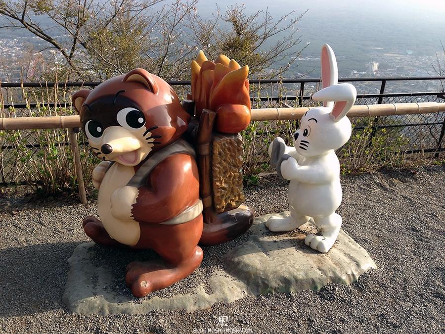 repos-lac-kawaguchiko-telepherique-mont-kachi-kachi-lapin-copain-tanuki