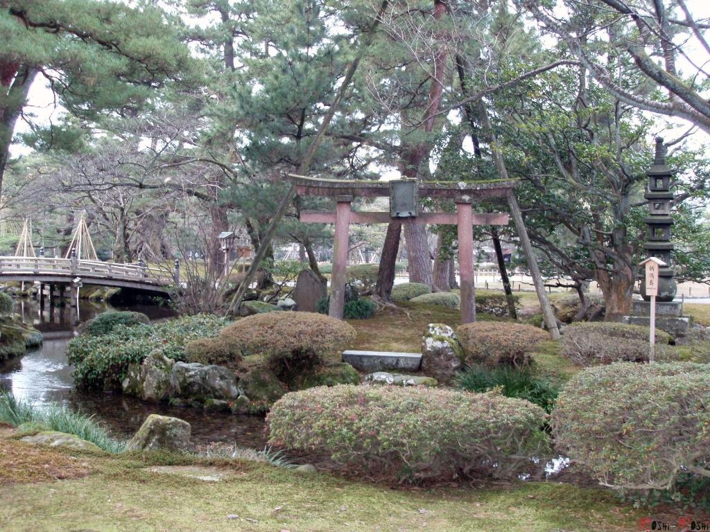 parc-kenrokuen-hiver-mini-torii