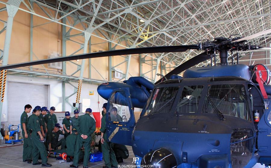base-militaire-japon-komatsu-air-rescue-force-cours-secourisme-helico