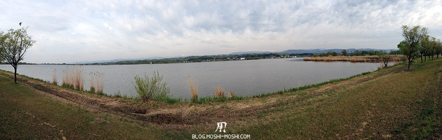 Parc Kibagata lac Kiba panorama lac