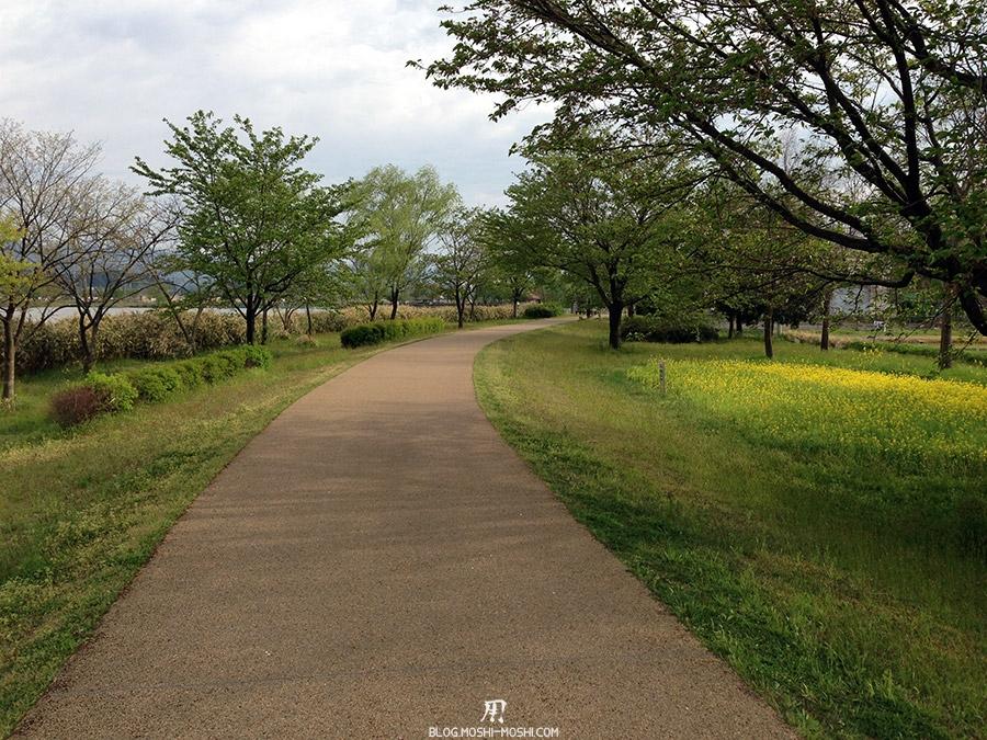 Komatsu-parc-kibagata-lac-kiba-piste-tour-du-lac
