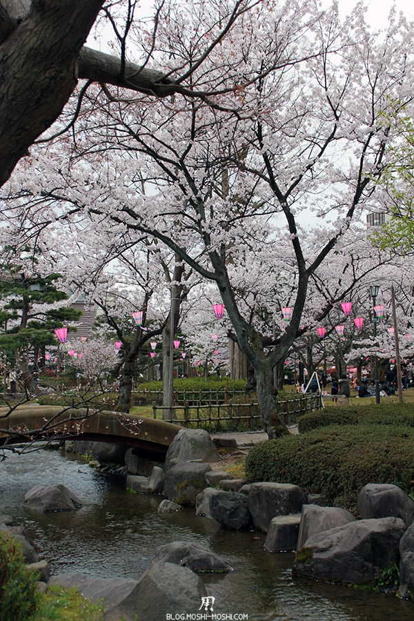 komatsu-parc-rojyou-matsuri-saison-sakura-pont-pierre-cerisier