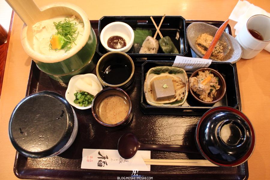 arashiyama-kyoto-saison-momiji-restaurant-tofu-saga-tofu-ine-menu-yuba
