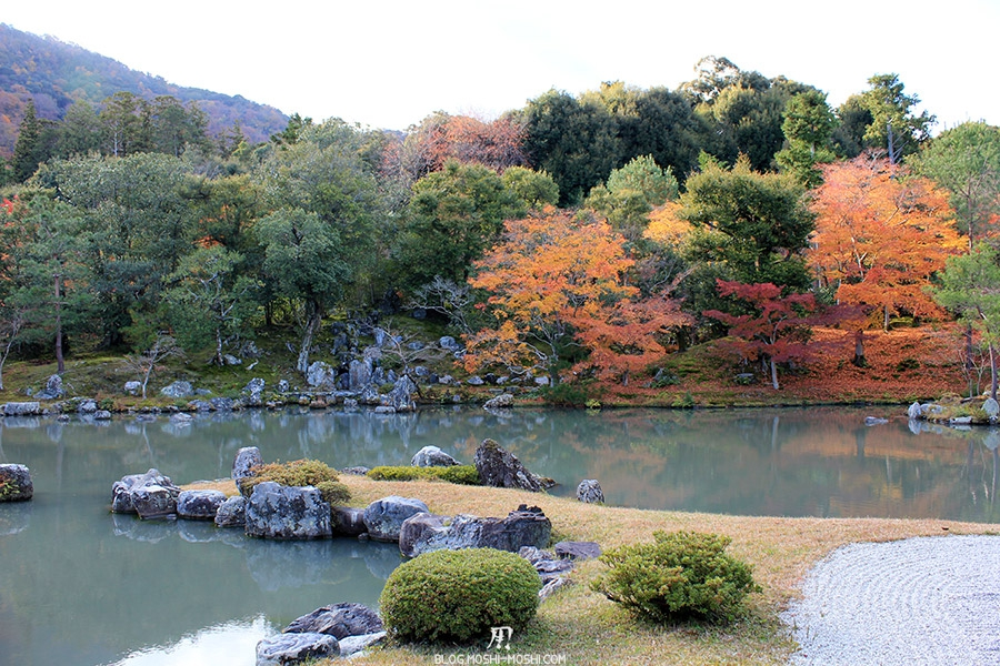 temple-tenryu-ji-kyoto-arashiyama-momiji-etang-zen