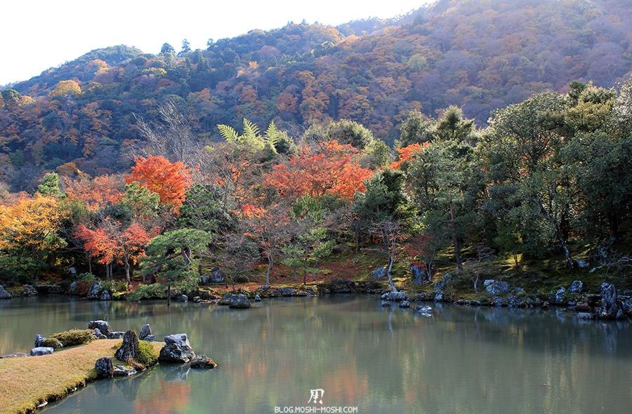 temple-tenryu-ji-kyoto-arashiyama-momiji-etang