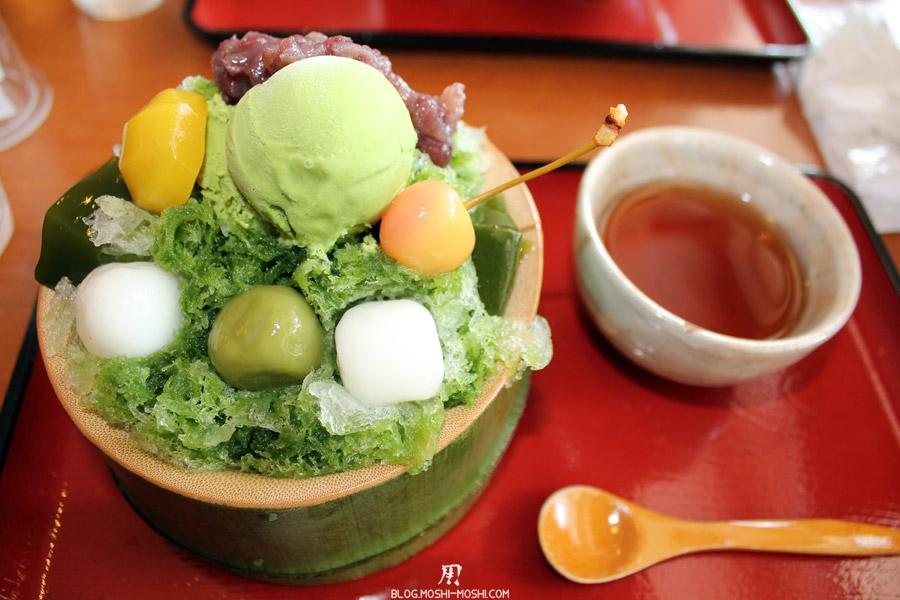 arashiyama-kyoto-restaurant-sagatofu-dessert-matcha-motchi-glace
