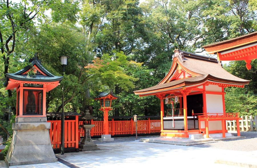 Fushimi Inari-taisha Kyoto allee entree