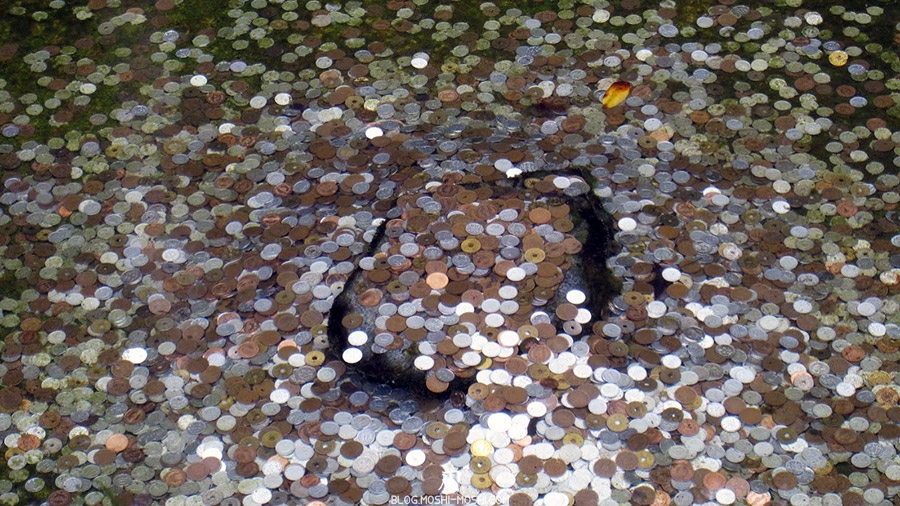ginkaku-ji-temple-argent-kyoto-saison-sakura-pieces-yen-dans-eau