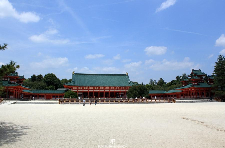 heian-jingu-kyoto-vue-cours-centrale