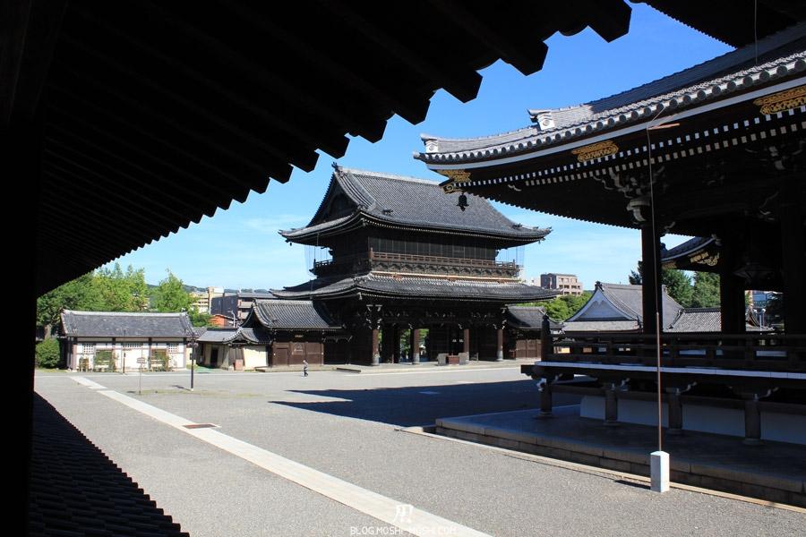 higashi hongan-ji-kyoto-cour-porte-goei-don-mon