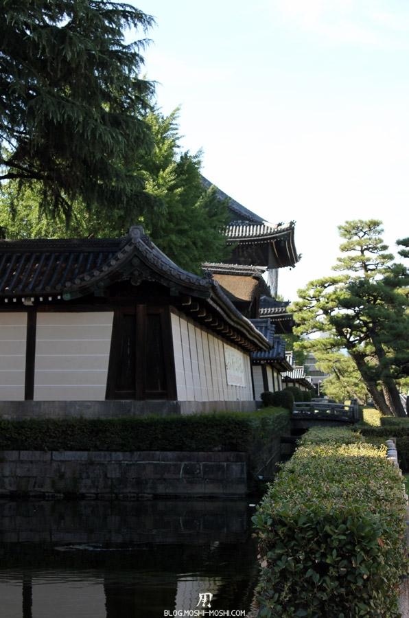 higashi-hongan-ji-kyoto-mur-enceinte-douve