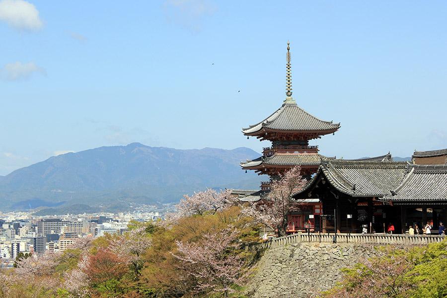 kiyomizudera-sanctuaire-kyoto-saison-sakura-pagode-entree
