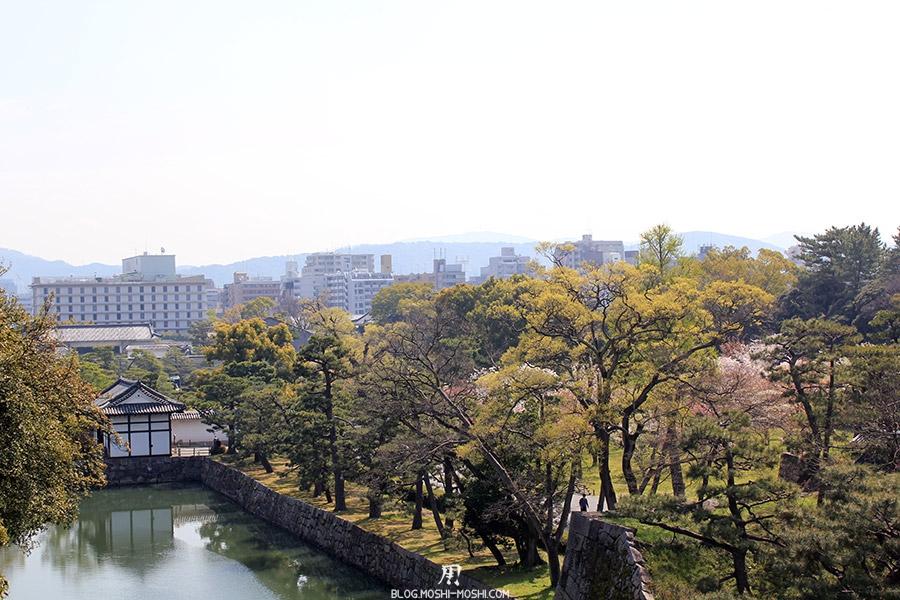 nijo-jo-chateau-kyoto-saison-sakura-vue-ville-rive