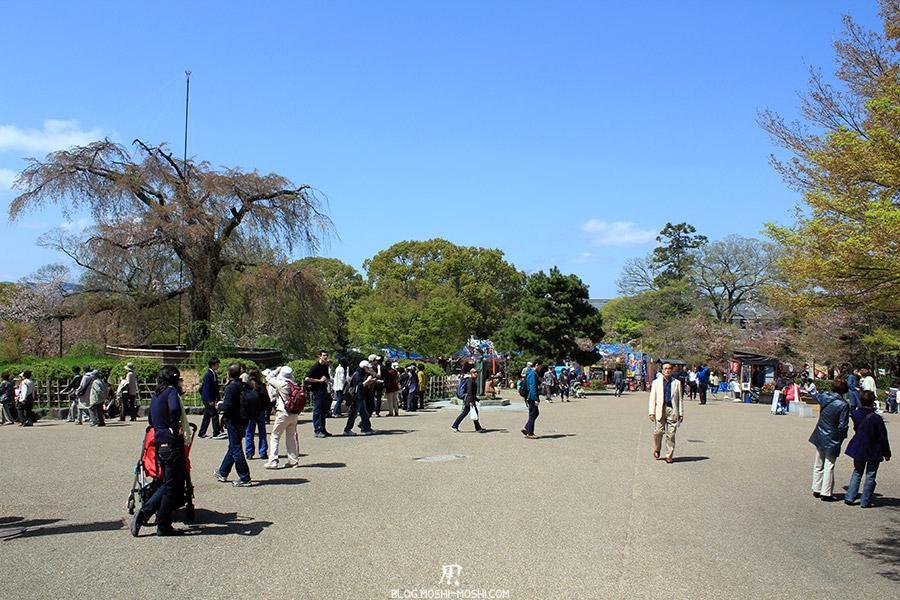 parc-maruyama-kyoto-saison-sakura-palce-centrale-foule