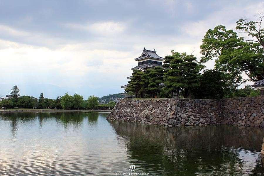 nagano-chateau-matsumoto-corbeau-noir-douves-immenses