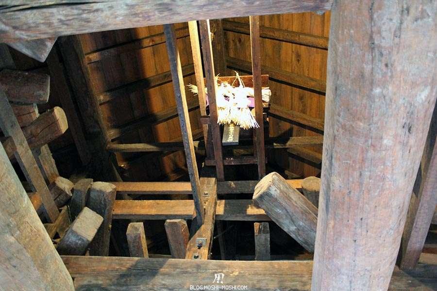 nagano-chateau-matsumoto-corbeau-noir-interieur-autel-sous-toits