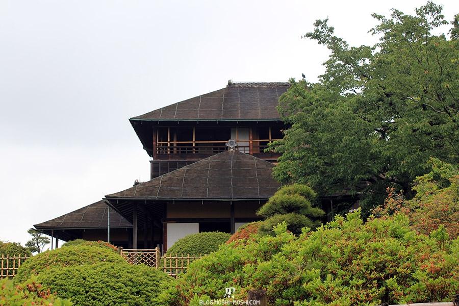 kairakuen jardin-japonais-kairaku-en-hauteurs-ancienne-maison