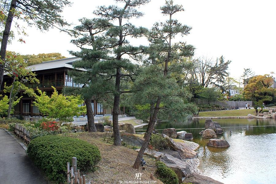 tokugawaen-parc-nagoya-etang-pavillon