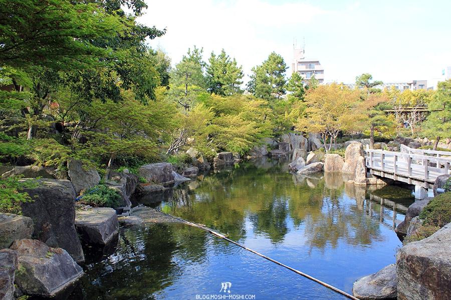 tokugawaen-parc-nagoya-etang-pont