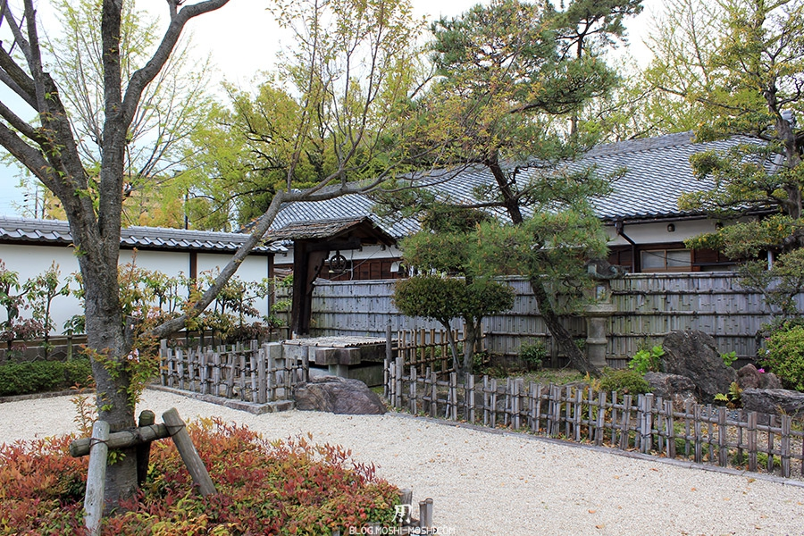 tokugawaen-parc-nagoya-sable-palissade-bois