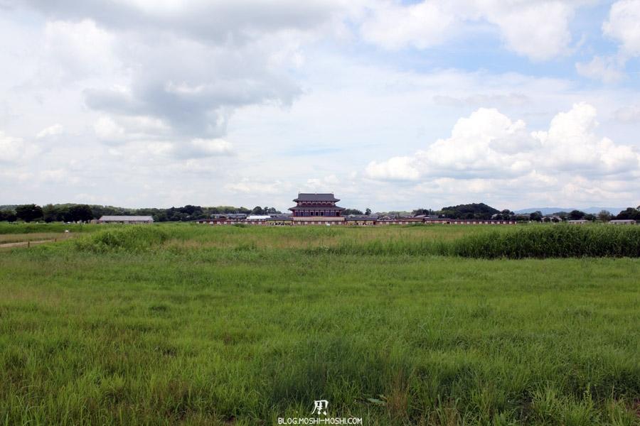 Nara-palais-heijo-premier-daigokuden-vue-loin